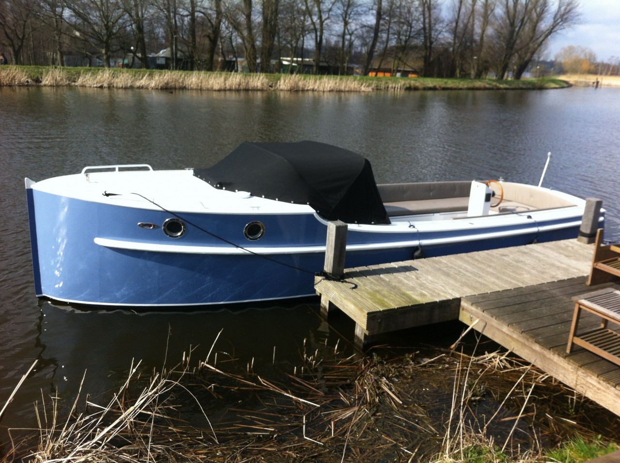 Retrosloep jachtbouw bakdekker # Wasbak Boot_112721